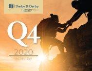 Derby & Derby, Wealth Management Q4 (2020) In Review