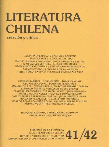 E creación y crítica - Memoria Chilena para Ciegos
