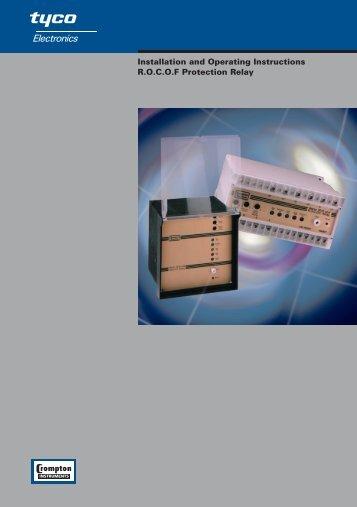 Installation and Operating Instructions R.O.C.O.F ... - Enersom.com