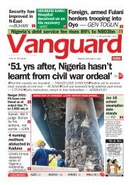 15012021 - '51 yrs after, Nigeria hasn't learnt from civil war ordeal'