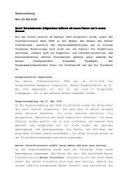 Medienmitteilung 24.05.2006 (PDF) - Berner Tierschutz