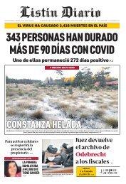 Listín Diario 01-15-2021