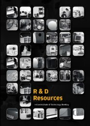 IRCC brochure on R & D Resources August - Industrial Research ...
