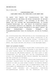 Medienmitteilung 16.02.06 - Berner Tierschutz
