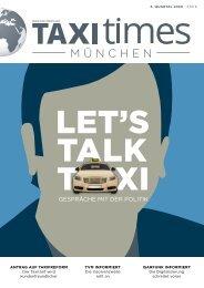 Taxi Times München - 4. Quartal 2020