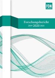FOM Forschungsbericht 2020