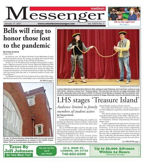 Madison Messenger - January 17th, 2020