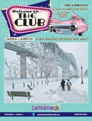 Welcome to the Club - Volume 1, Issue 1