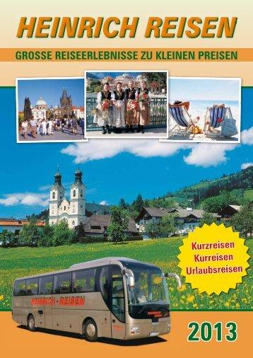 Katalog 2013 - Heinrich GmbH
