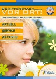 AKTUELL SERVICE AKTIONEN - Stadtwerke Schifferstadt