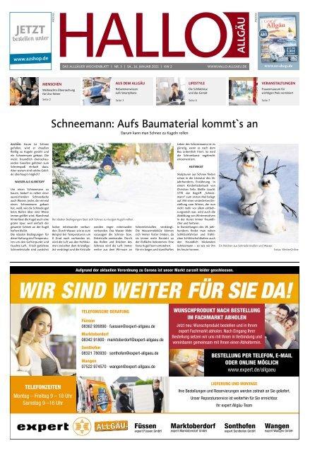 Hallo-Allgäu  vom Samstag, 16.Januar