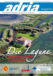 Die Lagune - beim Adria Magazin
