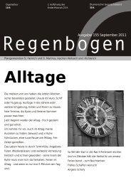 Regenbogen September 2011 - St. Heinrich