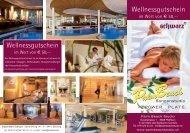 Wellnessgutschein Wellnessgutschein - Palm Beach Studio