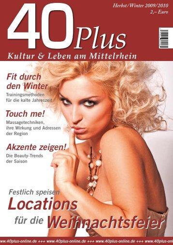 gewinnspiel - 40plus online