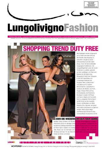 Collections & Accessories for men and women in ... - Lungolivigno