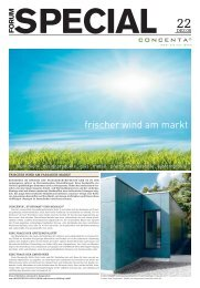 Die vielseitigen Fassaden-Verbundplatten conpan 50083 - Concenta