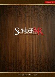 Ausgabe 01 | 2011 - SonderBar