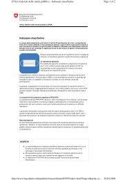 Page 1 of 2 Ufficio federale della sanit