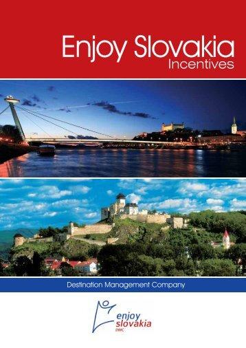 selling points - Enjoy Slovakia DMC