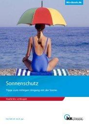 Sonnenschutz - IKK classic