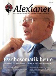 Psychosomatik heute - Alexianer Krankenhaus GmbH