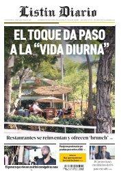 Listín Diario 01-18-2021