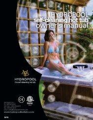 2012 Self Cleaning Manual - Hydropool