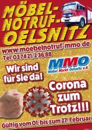 Corona zum Trotz: Wir sind für Sie da! - Möbel Nortuf Oelsnitz