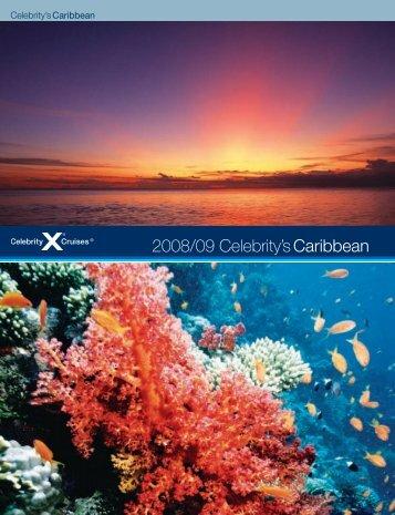 Celebrity's Caribbean 2007/2008 brochure - Celebrity Cruises