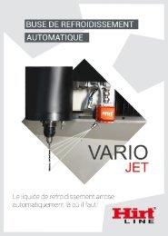 Hirt-Line Buse de refroidissement automatique Variojet