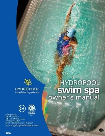 2012 swim spa owners manual (english) 010312 - Hydropool