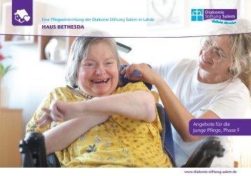 Folder Haus Bethesda - Junge Pflege