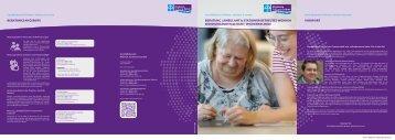 Folder Geschäftsbereich Wohnen, Assistenz & Lernen