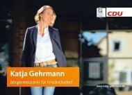 Broschüre Katja Gehrmann