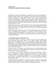 Szávai Ferenc A dezintegráció gazdasági kérdései ... - Grotius