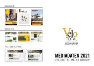 Mediadaten 2021 - VeloTOTAL MEDIA GROUP