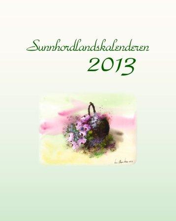 Sunnhordlandskalenderen - HusnesNett