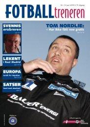 TOM NORDLIE: - Fotballtreneren