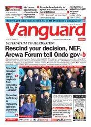 21012021 - Rescind your decision, NEF, Arewa Forum tell Ondo gov