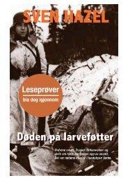 Døden pa larveføtter:Layout - Forlaget Kristiansen