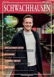 SCHWACHHAUSEN Magazin | Januar-Februar 2021