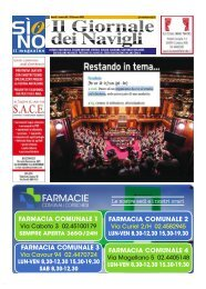 Giornale dei Navigli n. 3 - 22 gennaio 2021