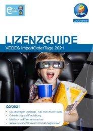 Lizenzguide ImportOrderTage 2021