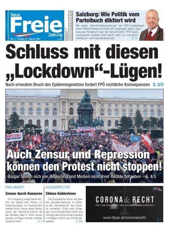 """Schluss mit diesen """"Lockdown""""-Lügen!"""