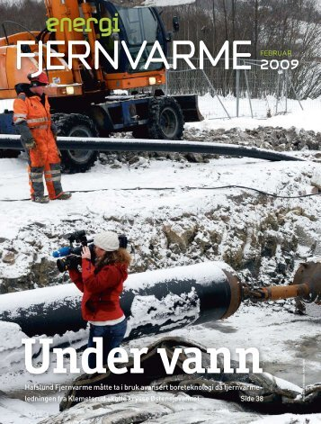 Økte omsetning av fjernvarme - Norsk fjernvarme