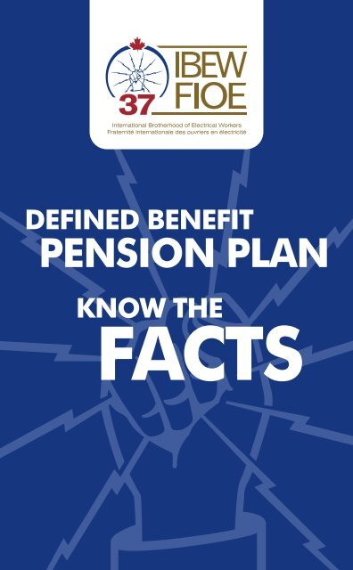 DB Pensions - Know the Facts