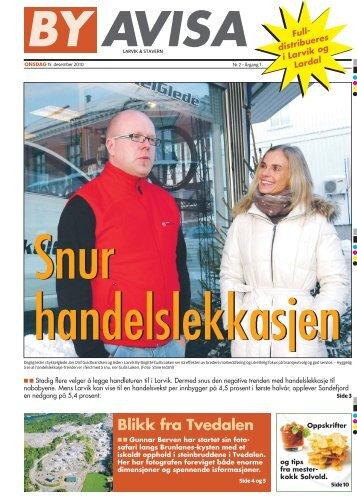 Vi har slipemaskin! - Byavisa Larvik & Stavern