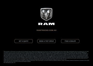 Ram Interactive Back Page
