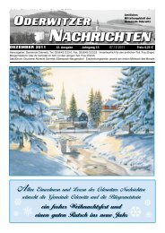 Dezember - Gemeinde Oderwitz